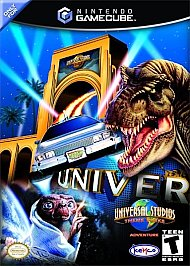 Universal Studios Theme Park Adventure - GameCube - Used