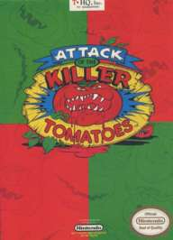Attack of the Killer Tomatoes - NES - Used