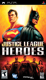 Justice League Heroes - PSP - Used