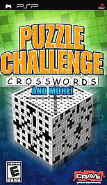 Puzzle Challenge: Crosswords and More! - PSP - Used