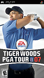 Tiger Woods PGA Tour 07 - PSP - Used