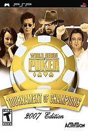 World Series of Poker: Tournament of Champions -- 2007 Edition - PSP - Used