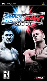 WWE Smackdown vs. RAW 2006 - PSP - Used