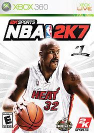 NBA 2K7 - XBOX 360 - Used