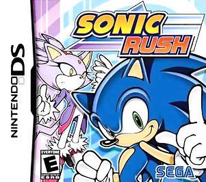 Sonic Rush - DS - New