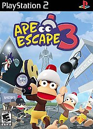 Ape Escape 3 - PS2 – New