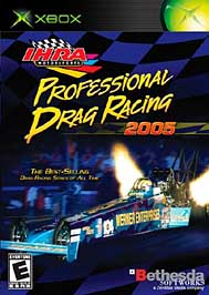 IHRA Professional Drag Racing 2005 - XBOX - New