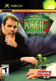 World Championship Poker 2: Featuring Howard Lederer - XBOX - New
