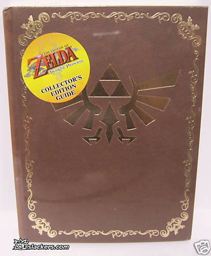 The Legend of Zelda: Twilight Princess Strategy Guide - Collector's Edition (Hardcover - Wii Version) - New