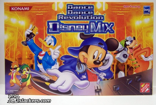 Dance Dance Revolution Disney Mix - Plug & Play - New