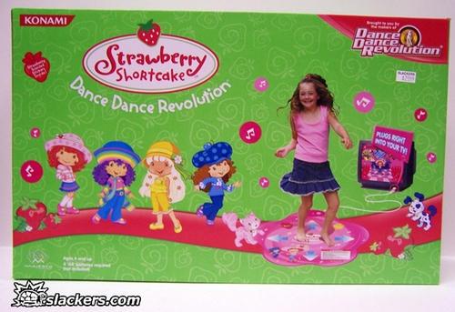Dance Dance Revolution Strawberry Shortcake - Plug & Play - New