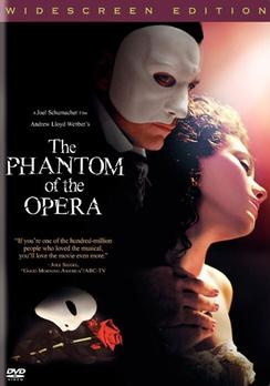 Andrew Lloyd Webber's The Phantom of the Opera - Widescreen - DVD - Used