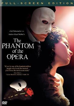 Andrew Lloyd Webber's The Phantom of the Opera - Full Screen - DVD - Used