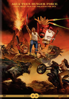 Aqua Teen Hunger Force Colon Movie Film... - Snap Case - DVD - Used