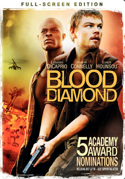 Blood Diamond - Full Screen - DVD - Used
