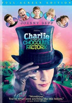 Charlie And The Chocolate Factory - Full Screen - DVD - Used