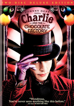 Charlie And The Chocolate Factory - Deluxe Edition - DVD - Used