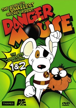 Danger Mouse: The Complete Seasons 1 & 2 - DVD - Used