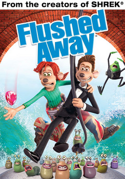 Flushed Away - Widescreen - DVD - Used