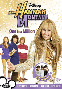 Hannah Montana: One In A Million - DVD - Used