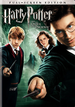 Harry Potter and the Order of the Phoenix - Full Screen - DVD - Used