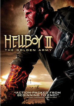 Hellboy II: The Golden Army - Widescreen - DVD - Used