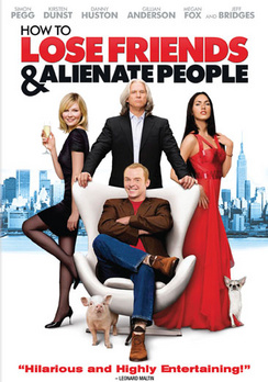 How to Lose Friends and Alienate People - Widescreen - DVD - Used