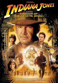Indiana Jones and the Kingdom of the Crystal Skull - DVD - Used