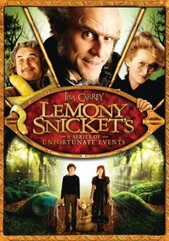 Lemony Snicket's A Series of Unfortunate Events - Widescreen - DVD - Used