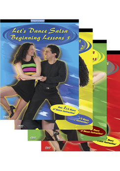 Let's Dance Salsa Ultimate Collection - Set - DVD - Used