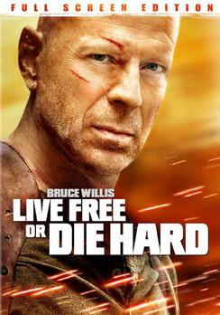 Live Free or Die Hard - Full Screen - DVD - Used