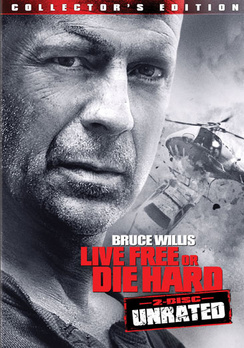 Live Free or Die Hard - Unrated Collector's Edition - DVD - Used