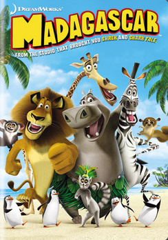 Madagascar - Full Screen - DVD - Used