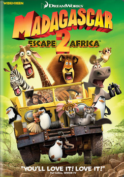 Madagascar: Escape 2 Africa - Widescreen - DVD - Used
