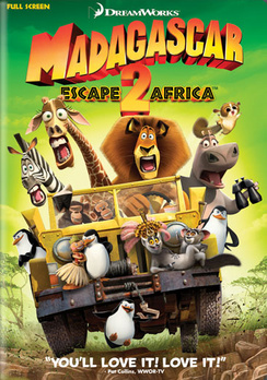 Madagascar: Escape 2 Africa - Full Screen - DVD - Used