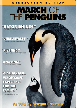 March of the Penguins - Widescreen - DVD - Used