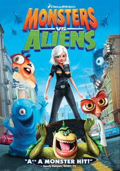 Monsters vs. Aliens - DVD - Used