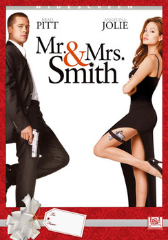 Mr. and Mrs. Smith - Full Screen - DVD - Used