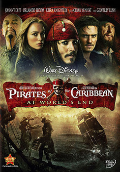Pirates of the Caribbean: At World's End - DVD - Used