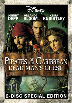Pirates of the Caribbean: Dead Man's Chest - Special Edition - DVD - Used