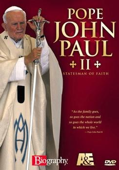 Pope John Paul II: Statesman of Faith - DVD - Used