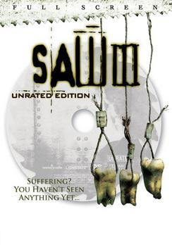 Saw III - Full Screen Unrated - DVD - Used