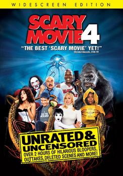 Scary Movie 4 - Widescreen Unrated - DVD - Used