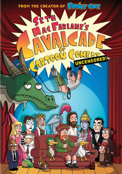 Seth MacFarlane's Cavalcade of Cartoon Comedy - Widescreen - DVD - Used
