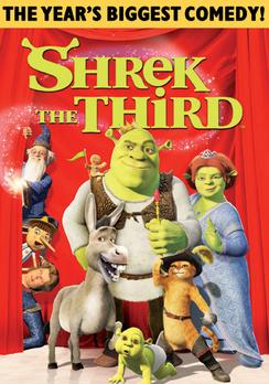 Shrek the Third - Full Screen - DVD - Used