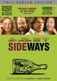Sideways - Full Screen - DVD - Used