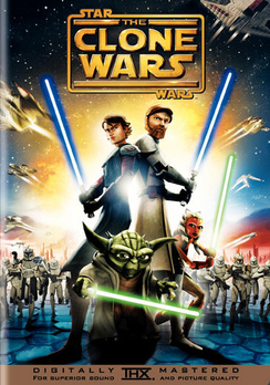 Star Wars: The Clone Wars - Widescreen - DVD - Used
