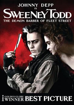 Sweeney Todd: The Demon Barber of Fleet Street - Widescreen - DVD - Used