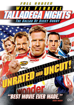 Talladega Nights: The Ballad of Ricky Bobby - Full Screen Unrated - DVD - Used