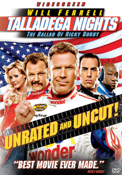 Talladega Nights: The Ballad of Ricky Bobby - Widescreen Unrated - DVD - Used